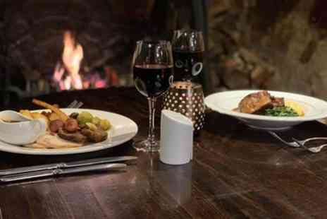 Tudors Restaurant - Two Course Meal with Glass of Wine for Up to Four - Save 54%