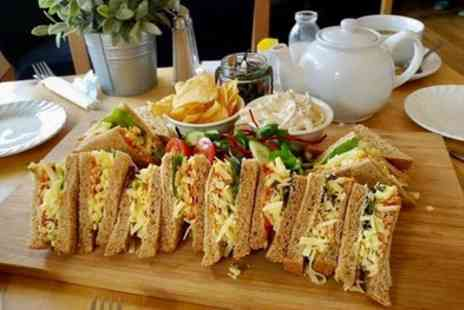 Rowells Rolls Cafe Bistro - Classic or Springtime Cheese Afternoon Tea for Two or Four - Save 39%