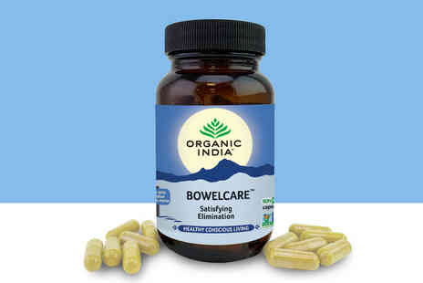 Organic India - 22 day supply of bowel care supplements - Save 0%