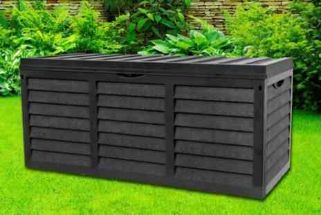 Groupon Goods Global GmbH - Garden Storage Box with Lid - Save 64%