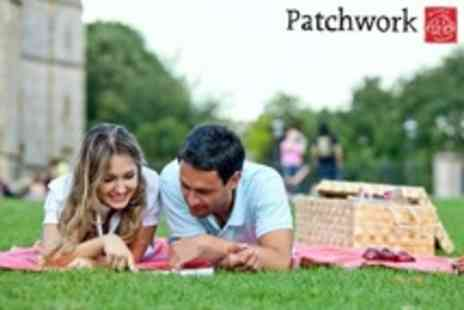 Patchwork - Picnic Hamper For Two - Save 53%