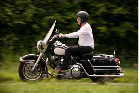 Virgin Experience Days - Half Day Ride Out on a Genuine USA Police Harley Davidson - Save 0%
