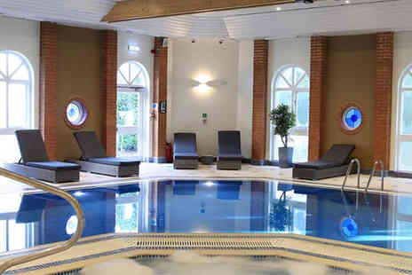 The Hogs Back Hotel & Spa  - Spa day, one treatment and afternoon tea with a glass of bubbly for one - Save 56%