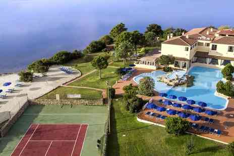 Colonna Hotel Du Golf - Four Star Exclusive Destination Overlooking the Gulf of Cugnana for two - Save 77%