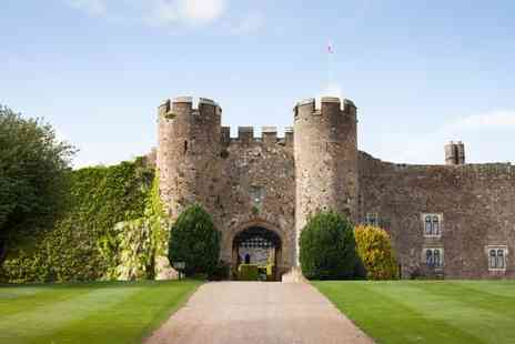 Amberley Castle - Four Star Enchanting Castle Nestled in Picturesque Countryside Location for two - Save 64%