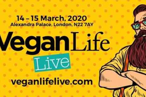 Vegan Life Live - One Day Adult Tickets from 14th To 15th March - Save 54%