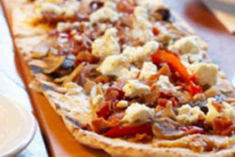 Thomas Restaurant - Two Mini Pizzas, Two Sides and Bubbly - Save 55%