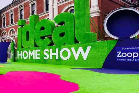 Media 10 - Two tickets to the Ideal Home Show from 11th To 14th June - Save 33%