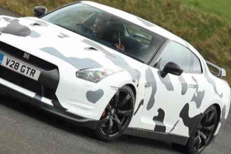driveme - Three lap Nissan GTR driving experience - Save 71%