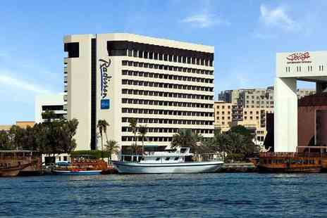 Radisson Blu Hotel - Five Star Newly Renovated Deira Creek Stay with Exciting Included Excursions - Save 22%