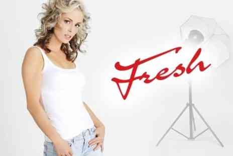 Fresh - Fashion Photo Shoot Plus One Retouched A4 Print and One A5 - Save 86%