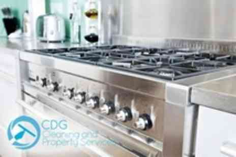 CDG Cleaning and Property Services - Deep Oven Clean - Save 50%