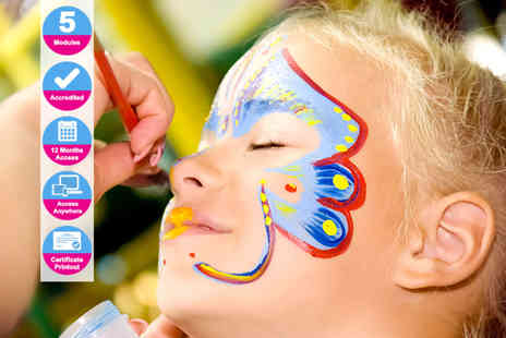 International Open Academy - Accredited face painting course - Save 90%