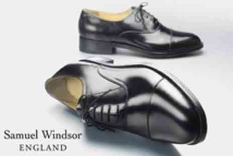 Samuel Windsor - One Pairs Mens HandMade Leather Shoes - Save 70%
