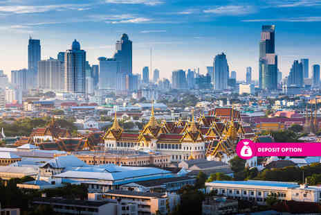 Travel Center - 10 nights Bangkok, Phuket and Dubai multi center break with return flights or pay a £200pp deposit today - Save 21%
