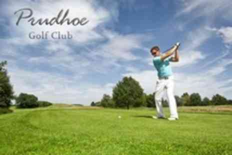 Prudhoe Golf Club - 18 Holes of Golf For Two - Save 15%