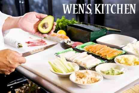 Wens Kitchen - Three Hour Sushi Making Class For One People - Save 72%