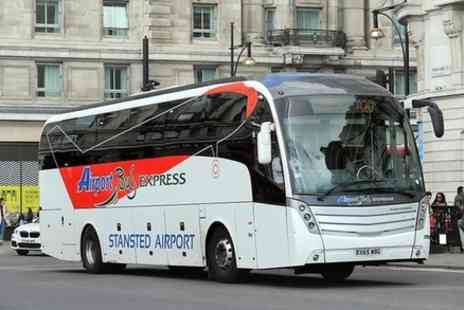 Airport Bus Express Ltd - London Stansted Airport Shuttle Bus from or to London Liverpool Street Station - Save 0%