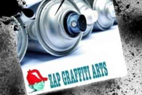 Zap Grafitti Arts - Two Hour Graffiti Workshop With Take Home Banner - Save 64%
