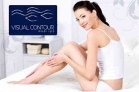 Visual Contour Medi Spa - Laser Hair Removal Six Sessions on Two Small or One Medium Area, Such as Bikini - Save 87%