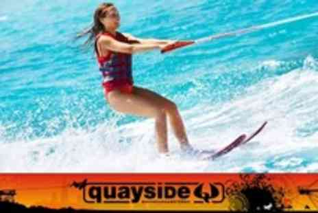 Quayside - Wakeboarding or Water Skiing One Hours - Save 69%