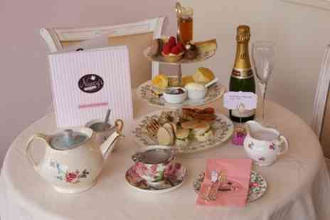 Nancys Vintage Teashop - Traditional Afternoon Tea for Up to Four - Save 33%