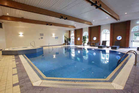 The Hogs Back Hotel & Spa - Spa day for two people including two 30 minute treatments each and afternoon tea with a glass of bubbly - Save 49%
