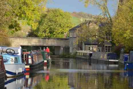 Lancashire Canal Cruises - Canal cruise for two people with an afternoon tea and a glass of wine each - Save 19%