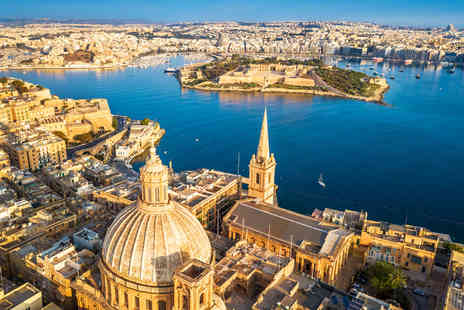 Fly Trip Travel - Escape with a two, three, four, five or seven nights getaway to Malta Now with the ability to choose your flights - Save 0%
