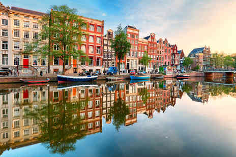 Via Holiday - Two nights Amsterdam, Netherlands break with return flights - Save 29%