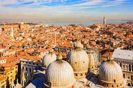 Via Holiday - Two nights Venice, Italy break with breakfast and flights - Save 43%