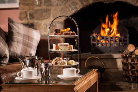 Chevin Country Park Hotel & Spa - Afternoon tea for two people - Save 0%