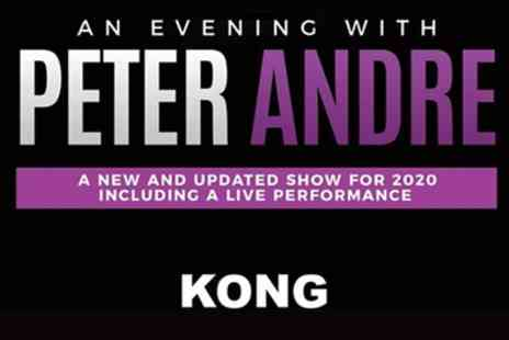 An Evening with Peter Andre - Standard, Gold or VIP Ticket from 29th February To 14 March - Save 21%
