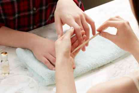 Beauty Lounge - Mini Gel Manicure, Mini Gel Pedicure or Both - Save 50%