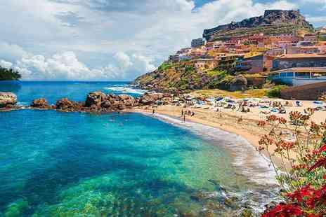 Hotel & Spa Riviera Castelsardo - Four Star Relaxing Island Break in Unbeatable Seafront Location for two - Save 80%