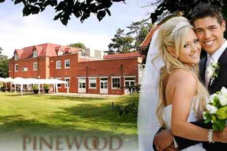 Pinewood Hotel - Wedding Package For 50 Guests With Three Course Breakfast And Reception for £2400 at The Pinewood Hotel (Up To £6305 Value) - Save 62%