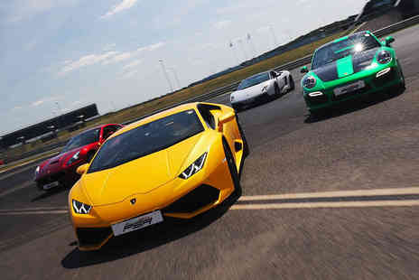 Supercar Test Drives - Three lap driving experience - Save 93%