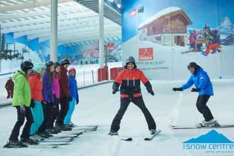 The Snow Centre - 120 Minute Ski or Snowboard Lessons for One Adult  - Save 54%