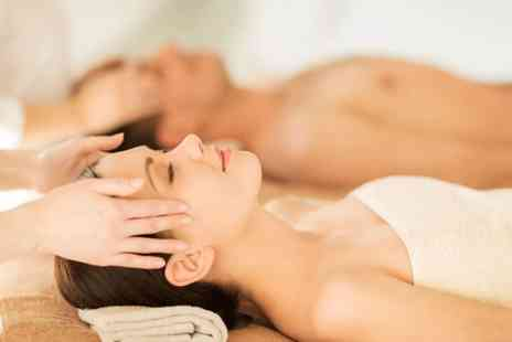 Dlux Beauty - 90 minute Valentines couples massage with two choices and chocolates - Save 57%