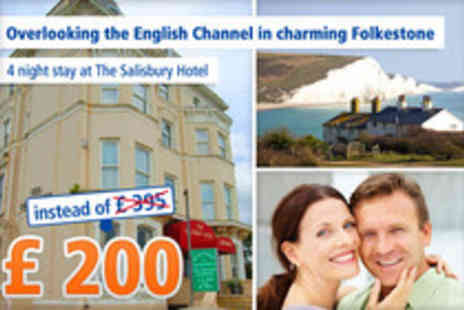 The Salisbury Hotel - Classic seaside holiday in Folkestone - Save 49%
