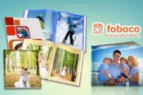 Foboco - XL landscape or portrait hardcover photo book - Save 0%