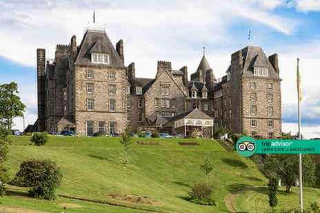 Atholl Palace Hotel - One nights stay for two with three course dining, a bottle of house wine, leisure access and breakfast - Save 30%