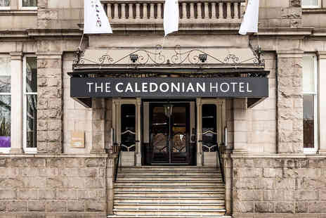 Mercure Aberdeen Caledonian Hotel - Four Star Overnight Aberdeen break for two people with breakfast and 6pm late check out - Save 51%