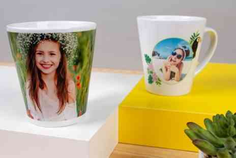 Colorland - Up to Three Personalised Latte Mugs - Save 64%