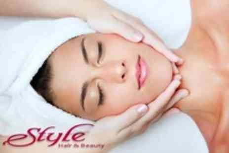 Style Hair And Beauty - Dermalogica Facial Including Face Mapping and Dermalogica Aromatherapy Back Massage - Save 56%