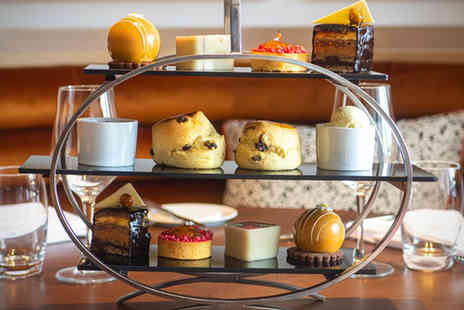 The Lowry Hotel - Afternoon tea for two people with a glass of Prosecco each - Save 13%