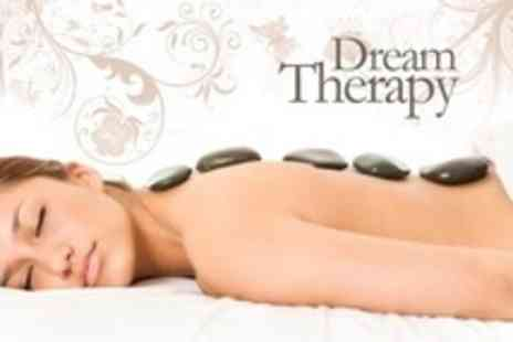Dream Therapy - Hot Stone Massage and Aromatherapy Facial - Save 62%