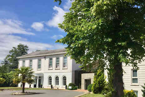 Manor of Groves Hotel - Overnight Hertfordshire stay for two people including breakfast, leisure access and a two course dinner with a glass of wine - Save 38%