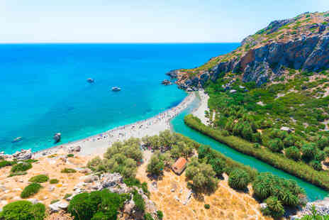 Weekender Breaks - Seven nights all inclusive Crete, Greece break with return flights - Save 34%