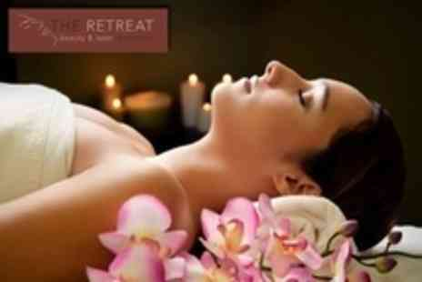 The Retreat Beauty - Spa Ritual Package With Oriental Facial and Back Massage Plus Manicure or Pedicure - Save 59%